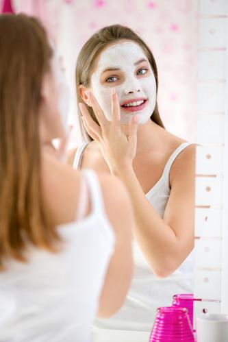 Teen acne facial